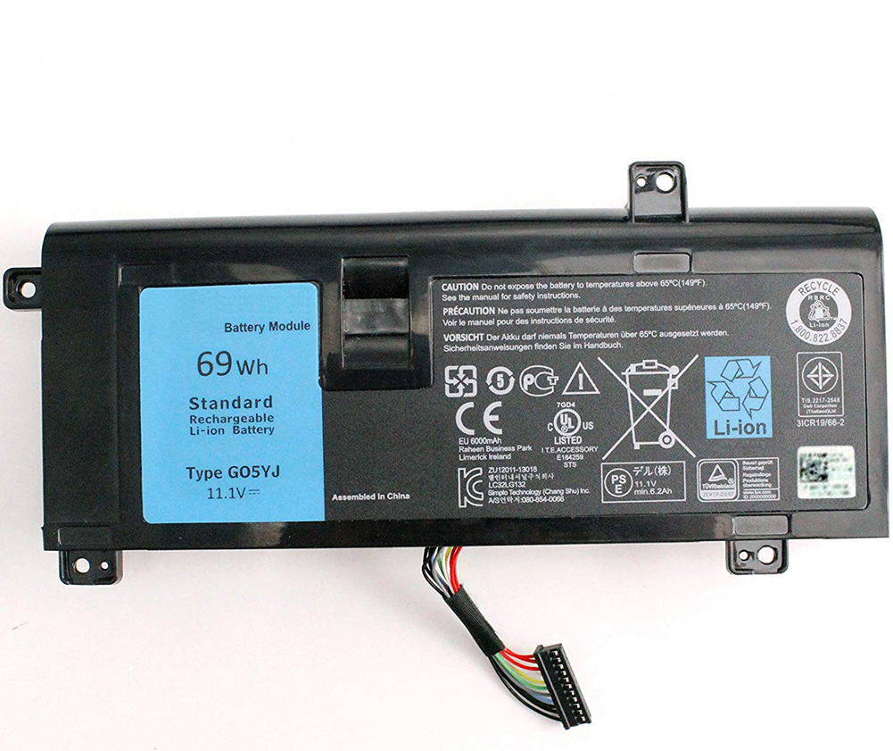 Original Battery For DELL G05YJ 0G05YJ Y3PN0 8X70T Alienware 14 A14 M14X R3 R4 G05YJ 0G05YJ Y3PN0 8X70T
