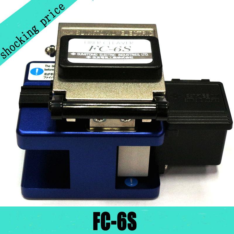 imágenes para FC-6S alta Precisión Cuchilla Sumitomo FC-6S Optical Fiber Cleaver + caja De Almacenamiento Utilizado en FTTX FTTH