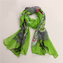 Beach Chiffon Soft Neck Scarf From India Brand poncho Loose Shawl Scarves Casual 2017 Autumn/winter Stole Wraps bufandas(China)