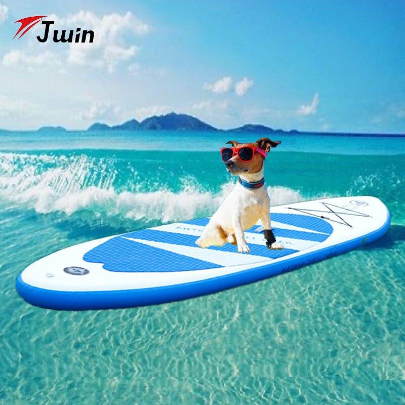 320*80*15 cm planche de surf gonflable 2019 nouveau Stand Up Paddle planche de surf Sport nautique planche Sup