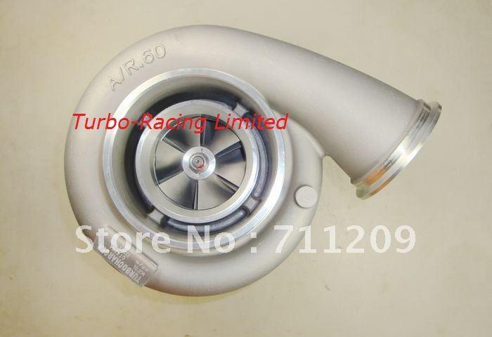 Nouveau gt4294 gt42 comp a/r. 60 turbine 1.05 a/r huile 1000hp T4 6 boulon turbo chargeur