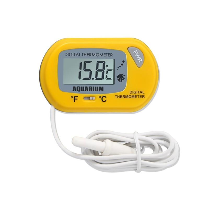 6 style LCD Digital Fish Tank Aquarium Thermometer Marine Water Terrarium Accessories Temperature Measurement Tools 3