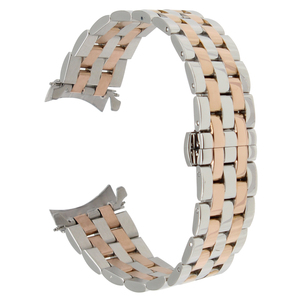Image 5 - 18mm 20mm 22mm 24mm Stainless Steel Watch Band for Tissot T035 PRC200 T055 T097 Watchband Butterfly Buckle Strap Wrist Bracelet