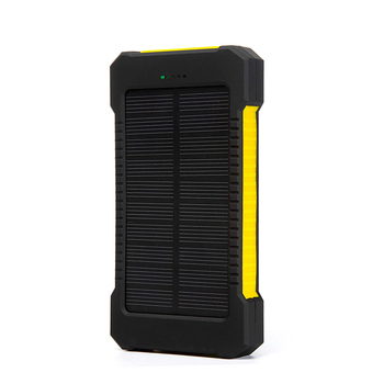 Top Sell Solar Power Bank Waterproof 20000mAh Solar Charger 2 USB Ports External Battery Charger Phone Poverbank with LED Light 3