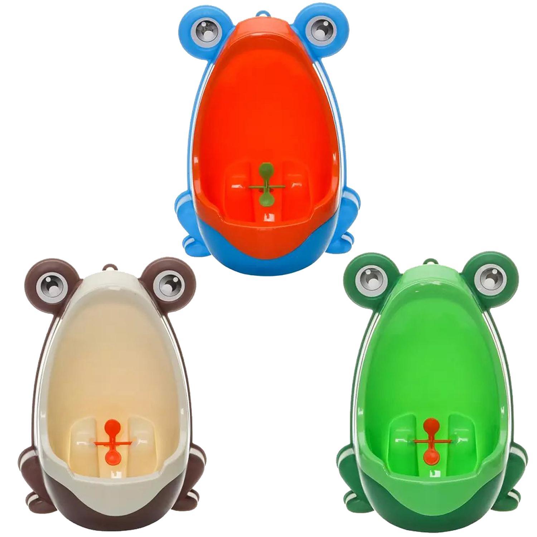 Новый милый прекрасный лягушка мальчик Для детей горшок туалет обучение детей, писсуар для маленьких мальчиков Пи Тренер Ванная комната ма...