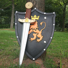 Toy Weapon Boy Sword Shield Combination Model Safe Environmental Protection PU Rubber Soft Knight Weapon
