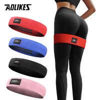 AOLIKES Männer & frauen Hüfte Widerstand Bands Booty Bein Übung Elastische Bands Für gym Yoga Stretching Training Fitness Workout
