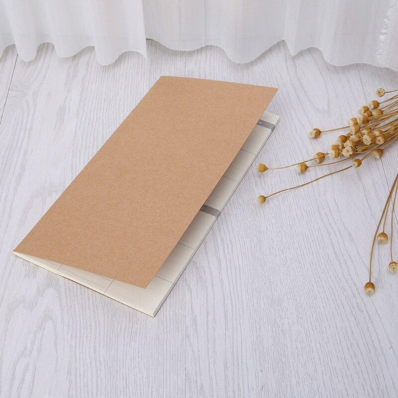 Kraft Copertura Planner Settimanale Diario Ufficiale Memo Nota Notebook Pad Ufficio Scolastico C26 Piacevole Al Palato