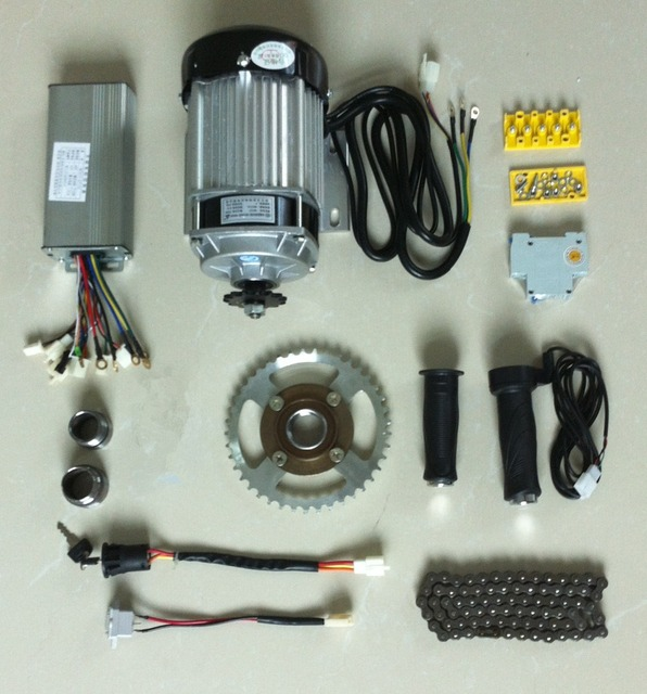 Electric Motor Kit For Trike: DC 48V 750W BM1418ZXF Brushless Motor, Electric Bicycle