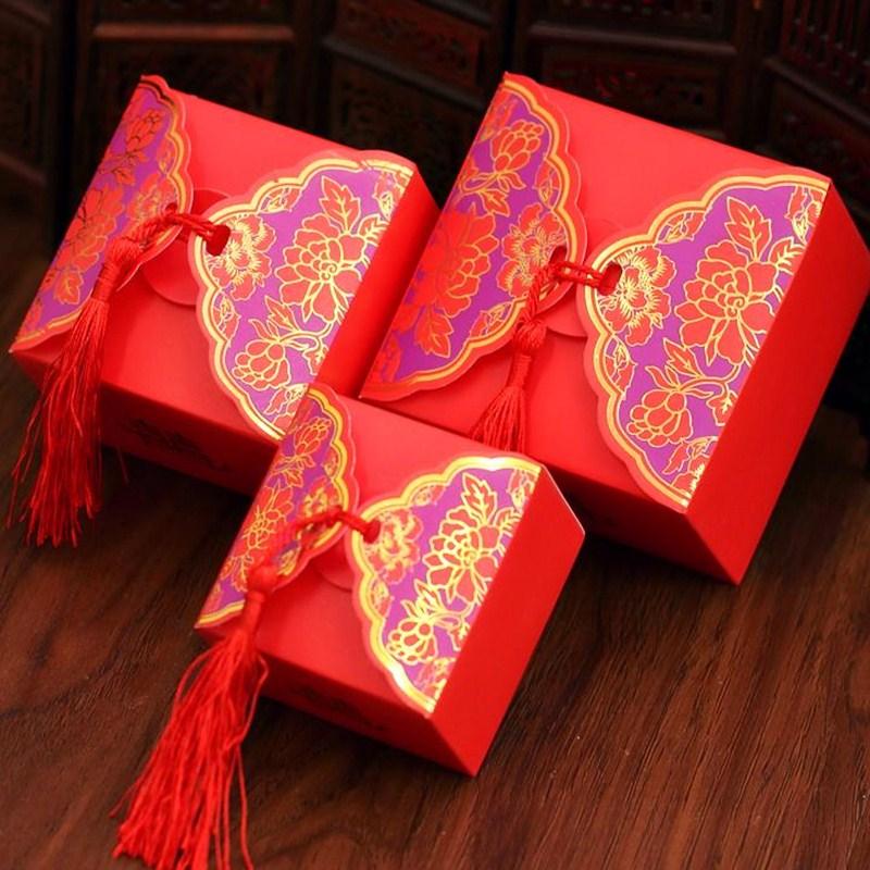 Wedding Preservation Boxes: New Gilding Storage Box Gifts Packing Box 50 Pcs/set