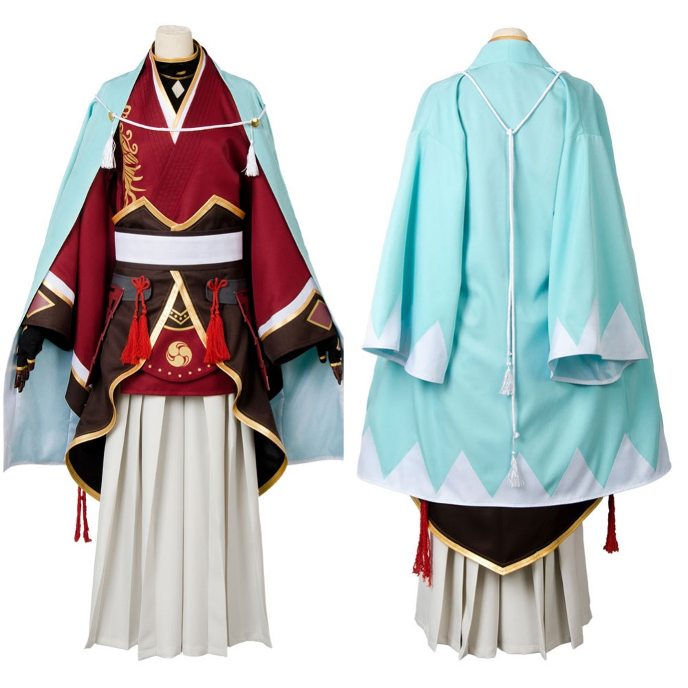 Game Touken Ranbu Izuminokami Kanesada Cosplay Costume Adult Men Halloween Carnival Cosplay Touken Ranbu Costume Custom Made