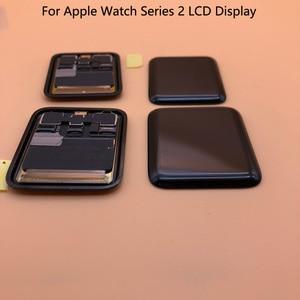 Image 3 - Pantalla LCD para Apple Watch Serie 2, prueba de 100%, Digitalizador de Pantalla táctil, Serie 6, 40mm, 44mm, negra