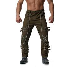 2019 new Mens Solid High Quality Pants Sweatpants Brand Men Joggers Hip Hop Harem Pants Male Personal zipper decoration Trousers