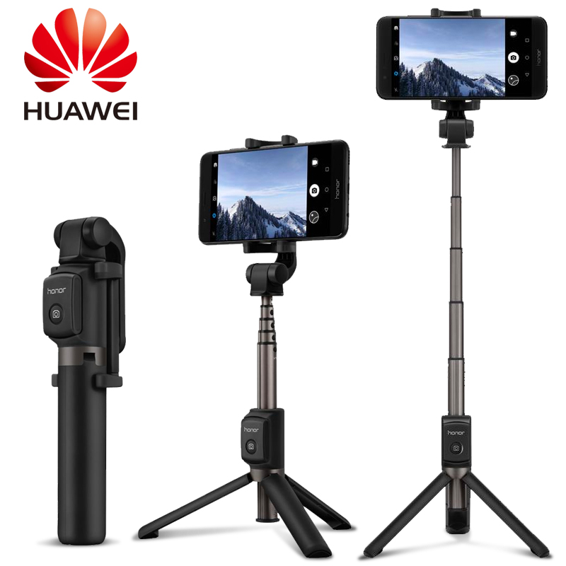 Original Huawei Honor AF15 Selfie Stick Tripod Bluetooth 3.0 Portable Monopod Extendable Handheld Holder Selfie Stick Tripod