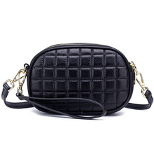 Double Zipper Messenger Bags Women's Messenger Bags 2019 Fashion Brand Guaranteed Premium Genuine Leather Practical Day Clutches