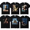 Hot Sale Brand Clothing 2pac Men Tshirts Gangsta Rap Tupac Cotton Shirt Hip Hop Gang Related Print Women Men Tupac Tee T-Shirts