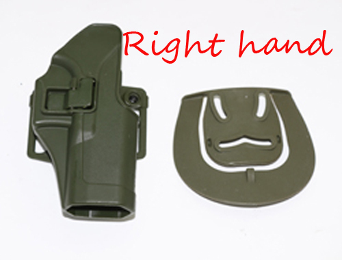 Color : Belt holster green