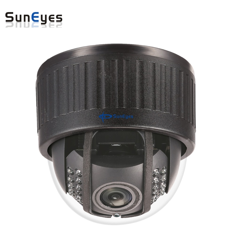 SunEyes SP-V904W 960P/1080P HD PTZ Wireless Dome IP Camera with Pan/Tilt/Zoom 2.8-12MM Optical Zoom with One Way Audio Mic in suneyes sp v1809sw 1080p ptz ip camera outdoor wireless full hd pan tilt zoom with 2 8 12mm optical zoom and micro sd slot onvif