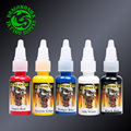 Scream Tattoo Ink 5-Pack Primary Color Set 0.5oz Bottles Color Tattoo Pigment Supply