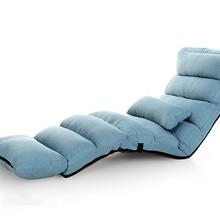 Современный диван-кровать для отдыха, мягкий шезлонг для помещений, кресло для гостиной, откидное кресло, 5 цветов, складной Регулируемый шезлонг для сна