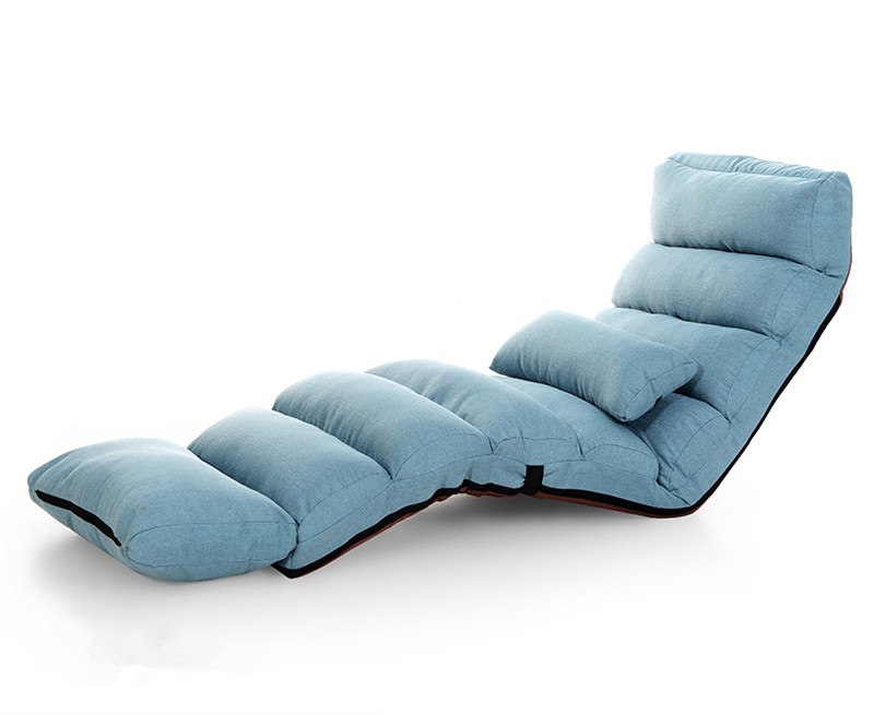 Recliner Chair Bed Weird Rocking Chairs Modern Sofa Lounge Upholstered Chaise Indoor Living Room Reclining 5 Color Floor Folding Adjustable Sleep Lounger Aliexpress Com Imall