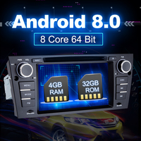 Eunavi 7 ''Android 8,0 1 Дин DVD мультимедийный плеер gps Navi для 3 серии BMW E90 E91 E92 e93 318 320 325 Canbus USB wifi bt