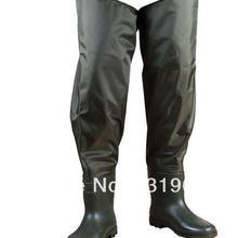Размер 42, зеленые водонепроницаемые рыболовные брюки для ловли карпа