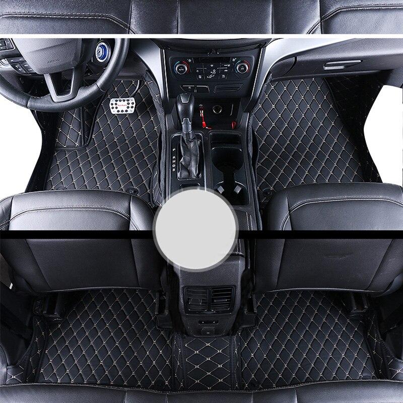 Lsrtw2017 fiber de luxe en cuir intérieur de voiture tapis de sol pour ford kuga échapper 2008-2019 2018 2017 2016 2015 2014 2013 2012 2011