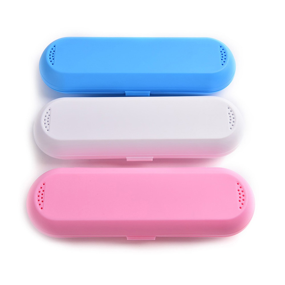 US/_ Travel Electric Toothbrush Brush Case Holder Container Storage Box Portable