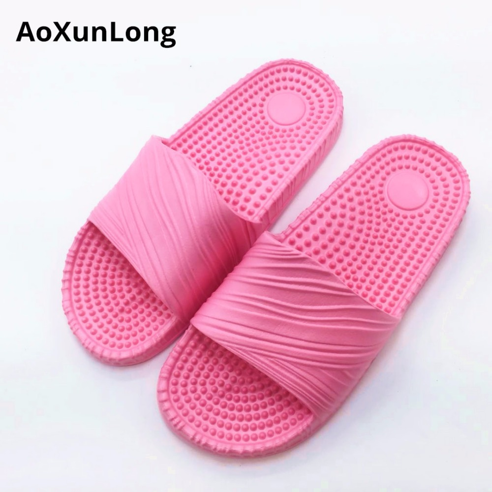 AoXunLong Summer Massage Slipper Women Beach Slippers Slides Flip - Women's Shoes