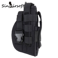Sinairsoft Tactical Gun Holster Molle Modular Pistol Holster For Right Handed Shooters 1911 45 92 96