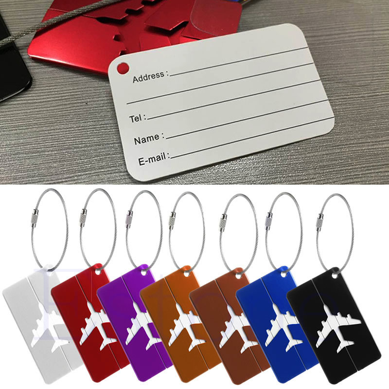 New Aluminium Travel Luggage Baggage Tag Suitcase Identity Address Name Labels presidential nominee will address a gathering