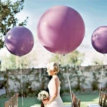1pc 36Inch Giant Clear Balloon Latex Balloons Birthday Wedding Decoration Inflatable Helium Balloons Happy Birthday Party Ballon