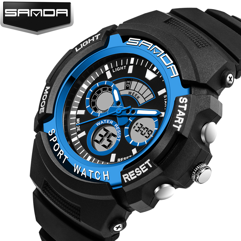 Humorous 2018 New Top Brand Casual Watch Men G Style Waterproof Sports Military Watches S Shock Mens Luxury Analog Digital Quartz Watch Men's Watches Digital Watches