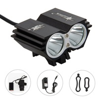 SolarStorm X2 6000LM 2x XML T6 LED Cycling Bike Bicycle Headlamp HeadLight Light Lamp Set Accessorios
