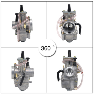 Image 4 - ZS MOTOS motosiklet 2 T motor PWK karbüratör 2 T motor 21 24 26 28 30 32 34mm Carburador honda Yamaha yarış Motor ATV