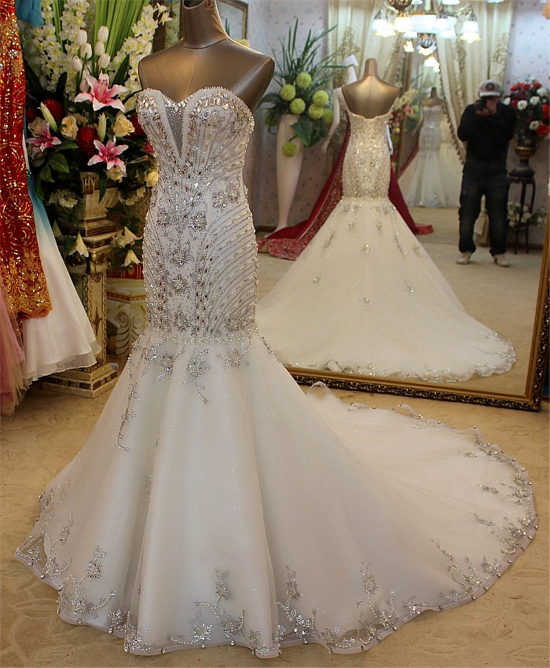 Crystal Wedding Gown