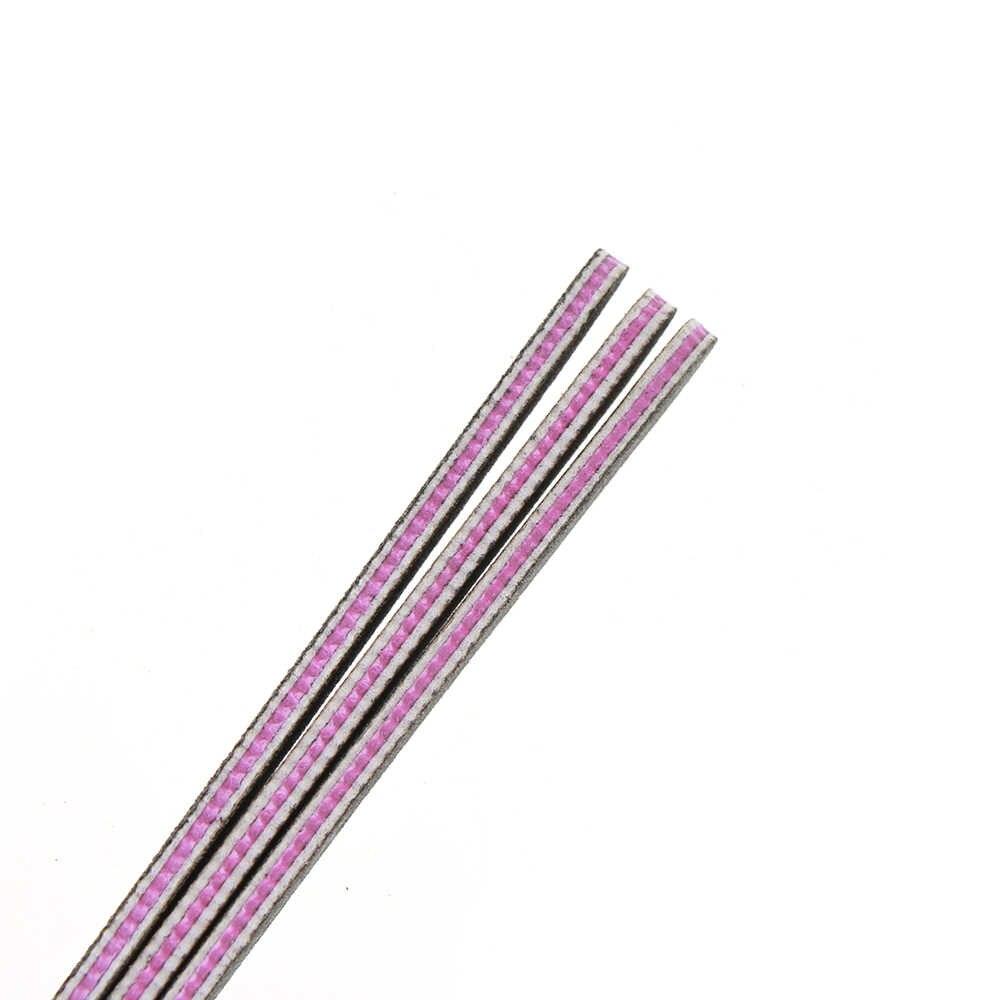 1 قطعة 100/180/240 ملفات الأظافر المهنية الرملي عازلة مزدوجة الوجهين باديكير ملحقات مانيكير العناية بالأظافر أدوات تجميل البولندية