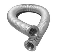 KF 25 Flexible Hose Stainless steel 1000mm vacuum corrugated bellows pipe tube