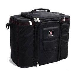 Высококачественная водонепроницаемая сумка для пикника для ланча Изолированная портативная тканевая сумка-холодильник большой объем хра...