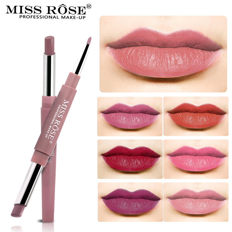 Miss Rose Brand Lip Liner Matte Lip Pencil 12 цветов - Макияж