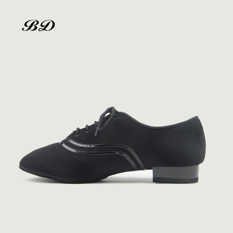 BD DANCE SHOES Latin Shoes Ballroom MEN Shoe Modern Cowhide Sole Super Durable Non-slip BDDANCE 330 Comfortable Feet Two SOLE