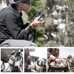 Image 5 - Hottime Battistrada Multifunzione in acciaio inox braccialetto di Usura Della Cinghia strumento di Cacciavite apriscatole chiave esagonale strumenti di combinazione Libera di 29