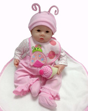 22 Lifelike Reborn Baby Alive Realistic Newborn Girl Doll Silicone Interactive Toys Kids Playmate Women Collects