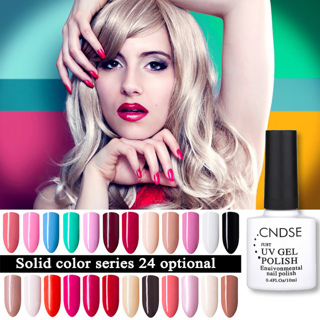 10ML Gel Nail 96 Solid Colors Fashion UV Gel Nail Polish Soak Off Vernish Semi Permanent LED Nail Polish Lacquer Gelpolish