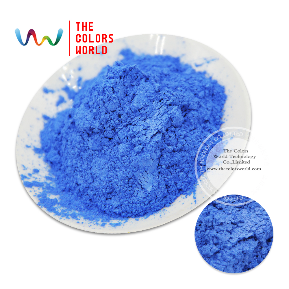 Tczg4627 interferencia azul color pigmento nacarado, pigmento del ...