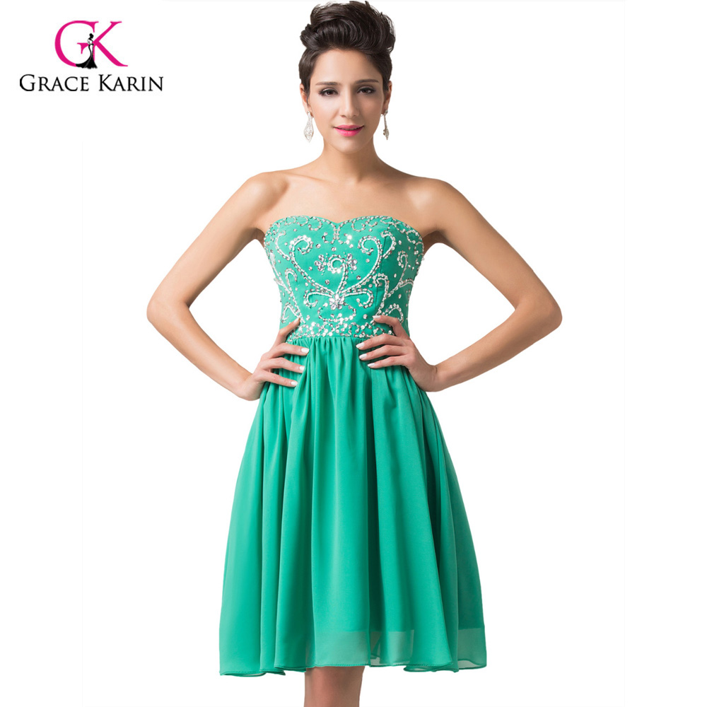 Prom Dress Grace Karin Free Shipping beadings and sequins Navy Blue ...