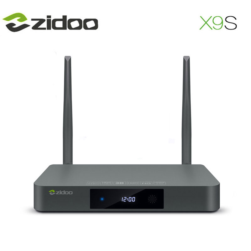ZIDOO X9S TV BOX Christmas Gift Xmas Gift Android 6 0 Smart TV WIFI Bluetooth 1000M