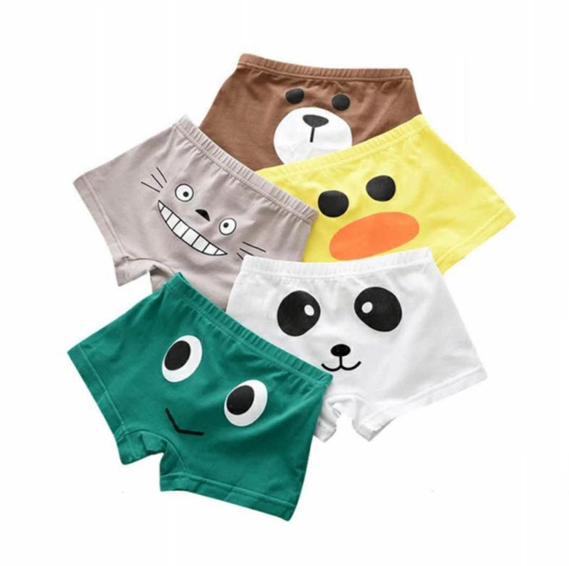2Pieces/Lot Baby Boys Panties 2018 New Cartoon Cotton Kids Underwear Pants Children's Cute Briefs For 2-12Y KU94