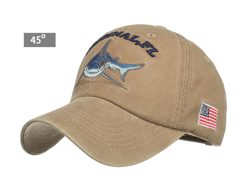 Sharks in Blue lightweight cotton working hat with elastic pocket for a comfort wear. Scrub Caps